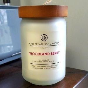 Large jar Woodland Berry candle